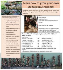 Cover photo for Learn How to Grow Your Own Shiitake Mushrooms