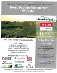 Cover photo for Coming Soon: Horse Pasture Management Workshop