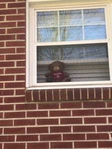 Image of child in window