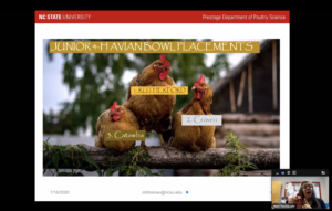 Cover photo for 4-H Youth Find Studying Poultry During Pandemic Pays Off