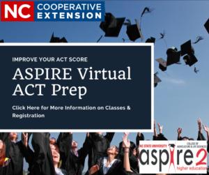 Cover photo for ASPIRE Virtual ACT Prep Course