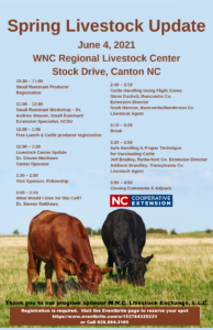 Cover photo for WNC Spring Livestock Update